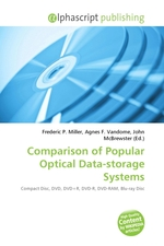 Comparison of Popular Optical Data-storage Systems