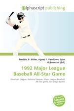 1992 Major League Baseball All-Star Game