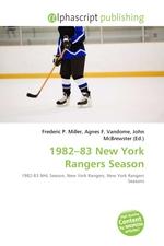 1982–83 New York Rangers Season