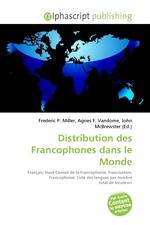 Distribution des Francophones dans le Monde