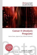 Caesar II (Analysis Program)