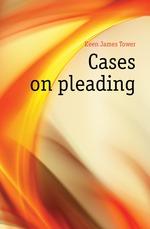 Cases on pleading