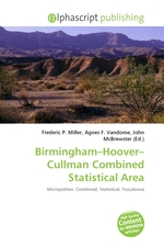 Birmingham–Hoover–Cullman Combined Statistical Area