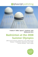 Badminton at the 2008 Summer Olympics