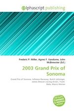 2003 Grand Prix of Sonoma