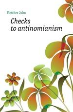 Checks to antinomianism