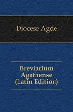 Breviarium Agathense (Latin Edition)