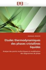 Etudes thermodynamiques des phases cristallines liquides. Analyse des points multicritiques et mod?lisation des diagrammes de phase