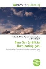 Blau Gas (artificial illuminating gas)