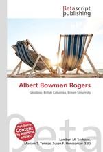 Albert Bowman Rogers
