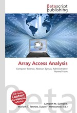 Array Access Analysis
