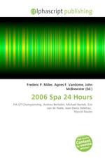2006 Spa 24 Hours