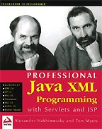 Professional Java XML Programming with Servlets and JSP. На английском языке