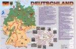 Карта ГЕРМАНИИ на немецком языке