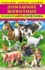 Домашние животные.Плакат,лото,раскраска