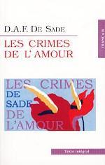 Les Crimes de l`amour