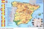 Карта ИСПАНИИ на испанском языке