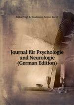 Journal fr Psychologie und Neurologie (German Edition)
