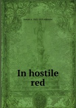 In hostile red