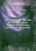 The Ordination Service Of The Rev. Jacob Snelgar At Crendon Lane, High Wycombe