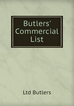 Butlers` Commercial List