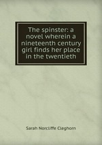 The spinster: a novel wherein a nineteenth century girl finds her place in the twentieth