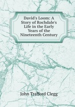 David`s Loom: A Story of Rochdale`s Life in the Early Years of the Nineteenth Century