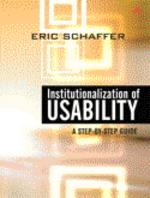 Institutionalization of Usability