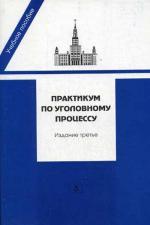 Практикум по уголовному процессу. 3-е изд., перераб. и доп. Под ред. Васильев О.Л