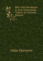 Blut- Und Wundsegen in Ihrer Entwicklung, Volume 24 (German Edition)
