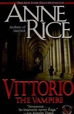 Vittorio, the Vampire: New Tales of the Vampires