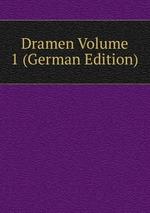 Dramen Volume 1 (German Edition)