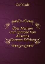 ber Metrum Und Sprache Von Aliscans (German Edition)