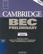 Cambridge BEC Preliminary, Book