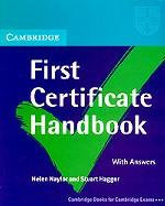 Cambridge First Certificate. Handbook. With answers