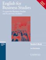 English for Business Studies. 2nd Edition, teacher`s book