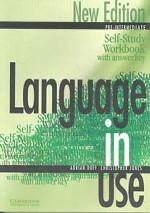 Language in Use: Pre-Intermediate: Self-Study Workbook with answer key