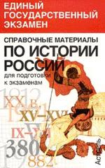 История России. Справочный материал