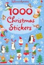 1000 Christmas Stickers (sticker book)