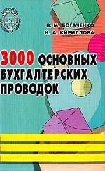 3000 основных бухгалтерских проводок