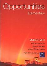 Opportunities Elementary. Students` Book with Mini-Dictionary