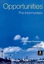 Opportunities Pre - intermediate Language Powerbook