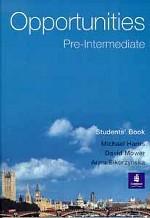 Opportunities. Pre - Intermediate. Students` Book