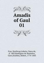 Обложка книги Amadis of Gaul