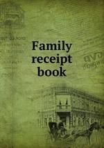 Family receipt book