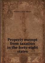 Property exempt from taxation in the forty-eight states