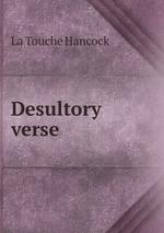 Desultory verse