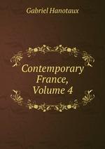 Contemporary France, Volume 4