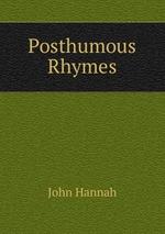 Posthumous Rhymes