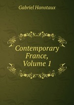Contemporary France, Volume 1